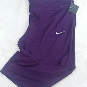 NIKE Plus Power capri leggings in purple